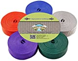Country Brook Design 1 Inch Polypro Webbing, 5 Yards of 5 Colors