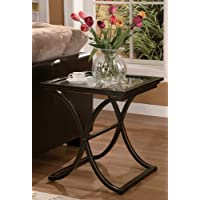Holly and Martin Roxburgh End Table in Black