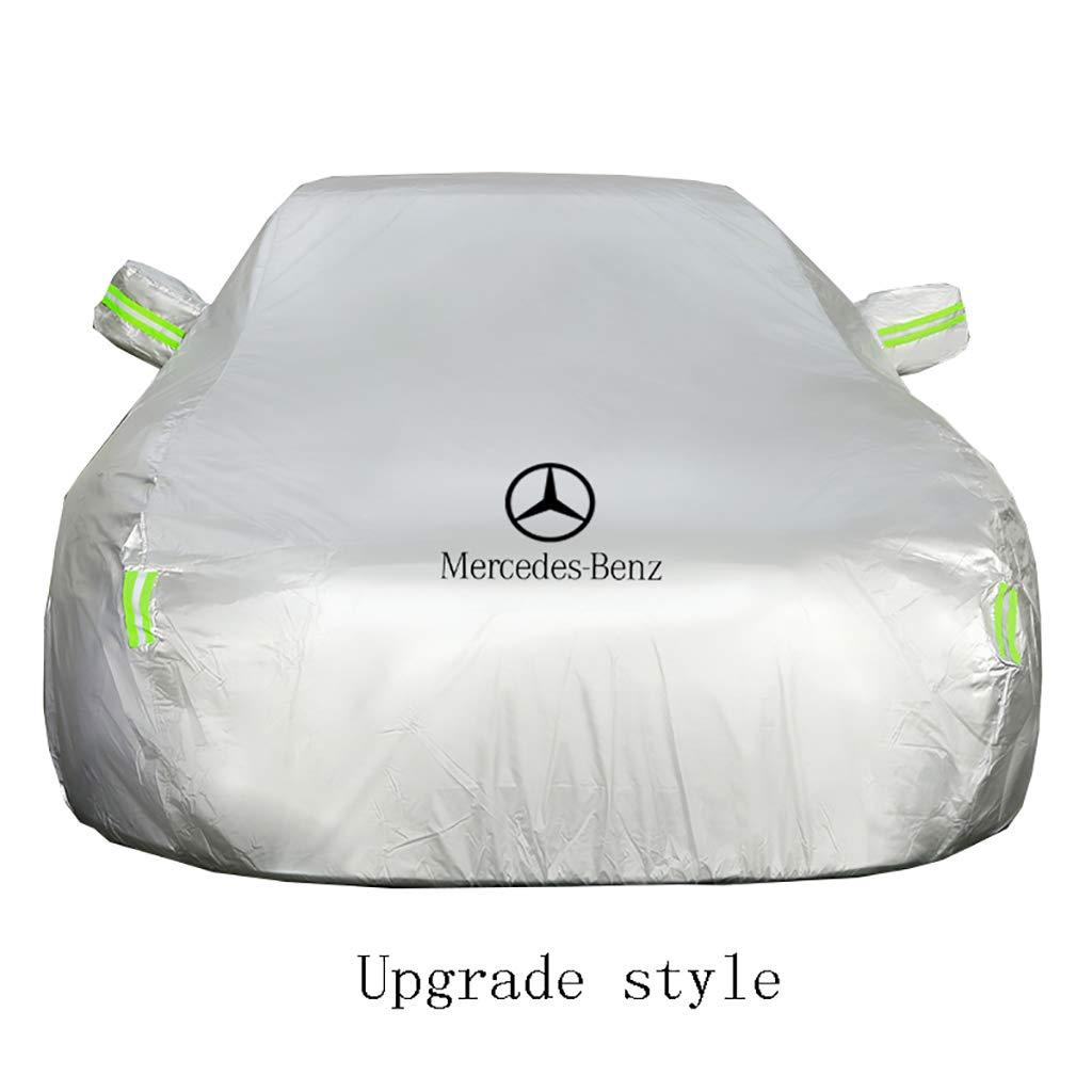 Clase B Clase C HWHCZ Cubierta de Coche Mercedes-Benz Cubierta para autom/óvil Cubierta para sed/án Totalmente Impermeable Todo Clima Sol UV Protecci/ón contra la Lluvia Clase A Clase E