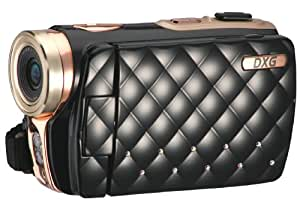 DXG USA DXG-535VK HD Riviera 720p High-Definition Camcorder Luxe Collection, Black (Discontinued by Manufacturer)