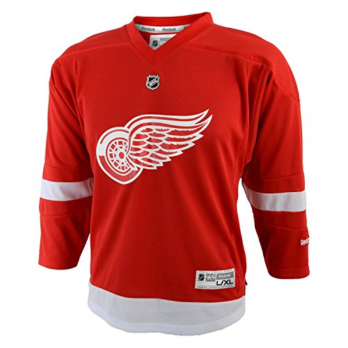 NHL Detroit Red Wings Replica Youth Jersey, Red, Small/Medium