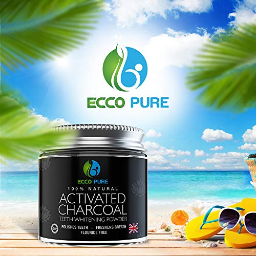 fb0196c628c Activated Charcoal Natural Teeth Whitening Powder by Ecco Pure - Import It  All
