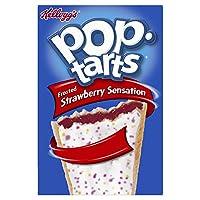 Kelloggs Pop Tarts Frosted Strawberry Sensation, 8 x 50g