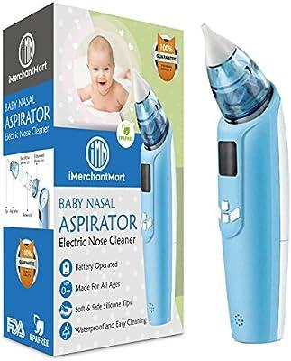 Amazoncom Baby Nasal Aspirator Safe Electric Battery Operated