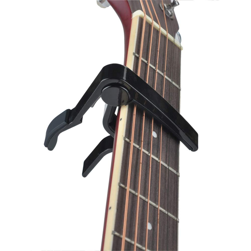 Guitar Picks Guitar Capo Black Acoustic Guitar Accessories