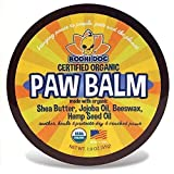 Organic Paw Balm for Dogs & Cats | All Natural Soothing & Healing for Dry Cracking Rough Pet Skin | Protect & Restore Cracked and Chapped Dog Paws & Pads | Better Than Paw Wax 2oz
