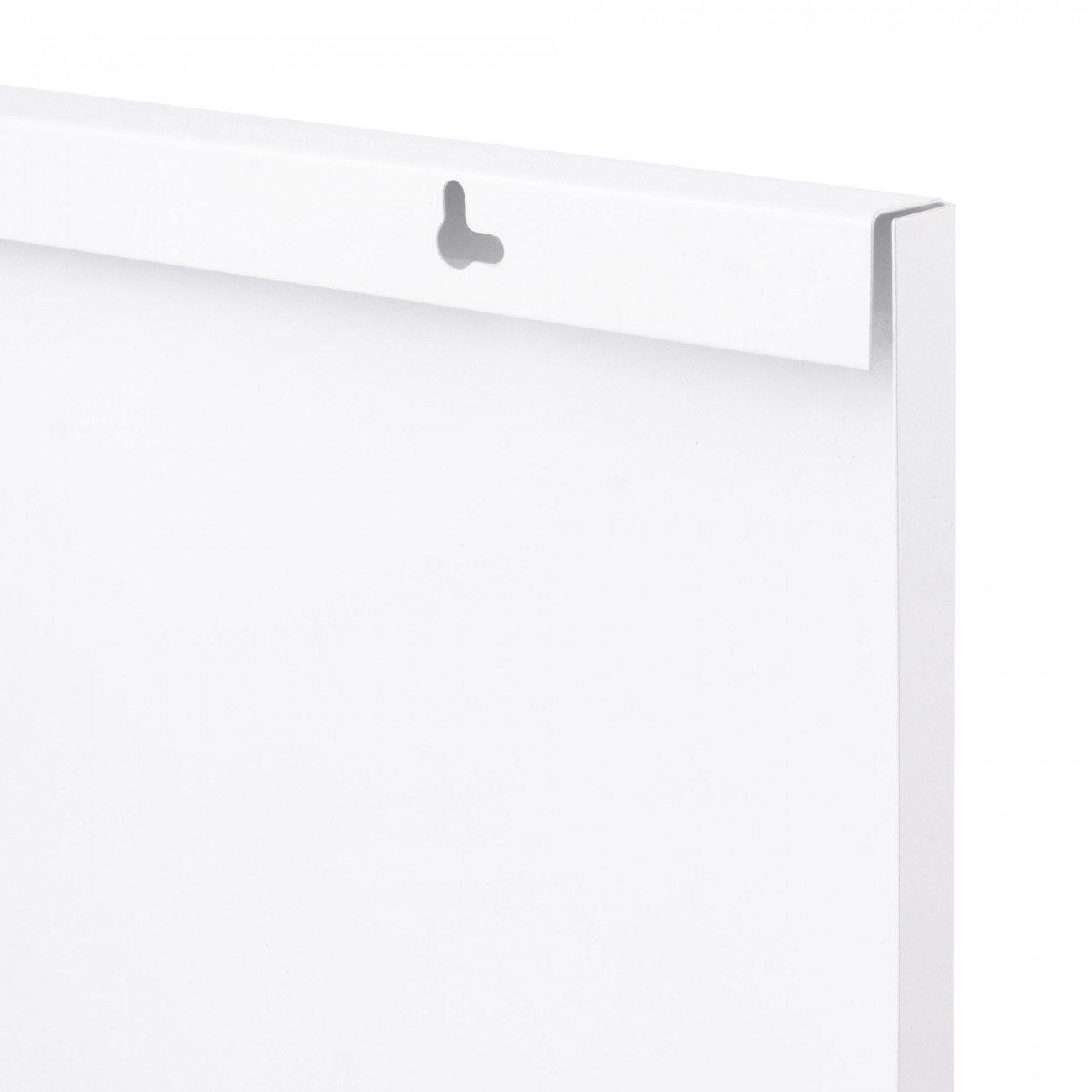 Pinnwand metall elegant magnettafel memoboard whiteboard pinnwand farbe rot inkl zubehr gren - Magnetische wandtafel ...
