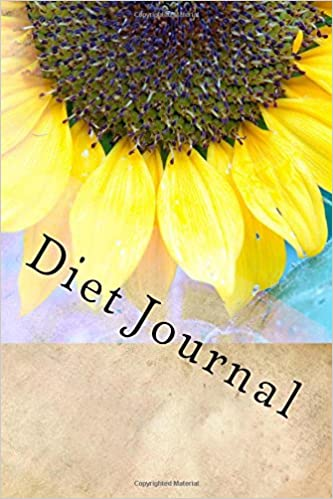 amazon in buy diet journal writing journal with sunflower cover