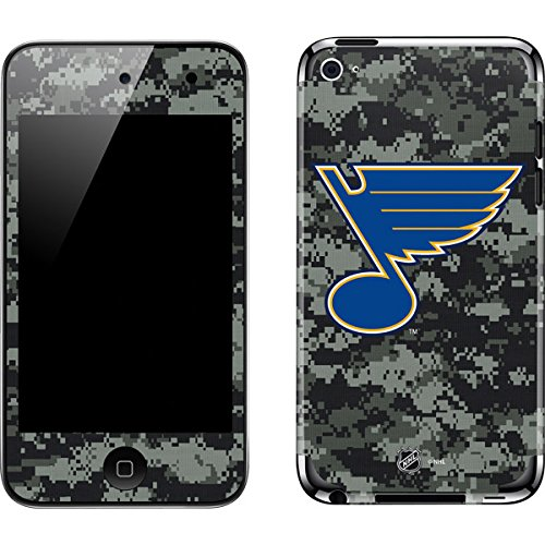 NHL St. Louis Blues iPod Touch (4th Gen) Skin - St. Louis Blues Camo Vinyl Decal Skin For Your iPod Touch (4th - Ipod Blues Skin Louis