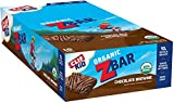 CLIF KID ZBAR - Organic Energy Bar - Chocolate Brownie - Baked Whole Grain Energy Snack Bar (1.27 Ounce Snack Bar, 18 Count)