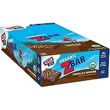 CLIF KID ZBAR - Organic Energy Bar - Chocolate Brownie - (1.27 Ounce Snack Bar, 18 Count)