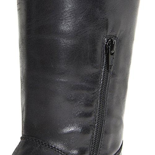 ALESYA by Scarpe&Scarpe - Botas con cremallera lateral, con Tacones 3 cm Negro