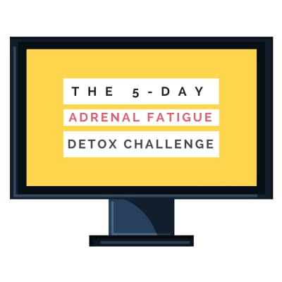 The Adrenal Fatigue Detox Challenge: Identify and 'detox' from the diet + lifestyle stressors causing your Adrenal Fatigue [Online Video Training Course] [Online Code]