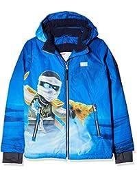 LEGO Wear Girl's Waterproof & Windproof Fleece-Lined Snow/Ski Jacket with Adjustable Waist and Reflective Detail