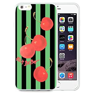 Genuine Betsey Johnson 28 White iPhone 6 Plus/6S Plus 5.5 inches Screen TPU Cover Case Luxury and Lovely Design