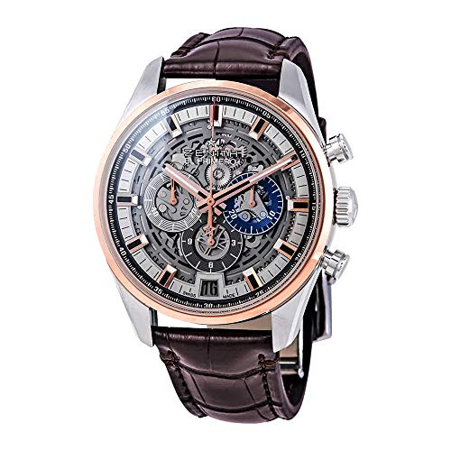 - Zenith Chronomaster El Primero Skeleton 42mm Mens Watch 51.2081.400/78.C810