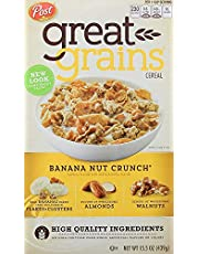 Post Selects Great Nut Crunch Whole Grain Cereal, Banana, 439g