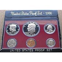 Juego de prueba de los Estados Unidos de 1976 en embalaje original del gobierno