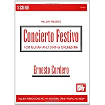 Concierto Festivo - Score - For Guitar and String Orchestra