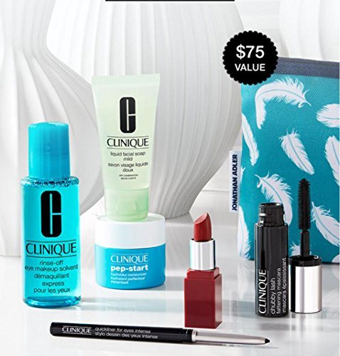the Best of Clinique 2017 7-pc $75 Value Skincare Makeup Gif
