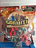 Gormiti series 1 Invincible Lords of Nature 4x pack