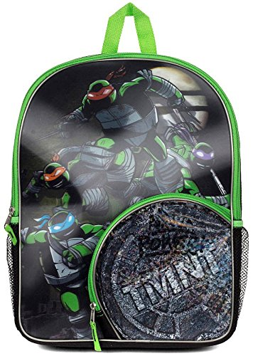 Fashion Accessory Bazaar Nickelodeon Teenage Mutant Ninja Turtles Half Shell Hero Backpack Ninja Power