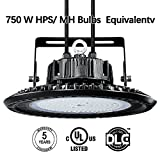 LED High Bay Light 20250 Lumen-150 Watt Wigbow High Bay Fixtures-1 meter Long Extension Cord,and Bracket Additional-5000K Day Light White-for Commercial Grade Area Warehouse Workshop