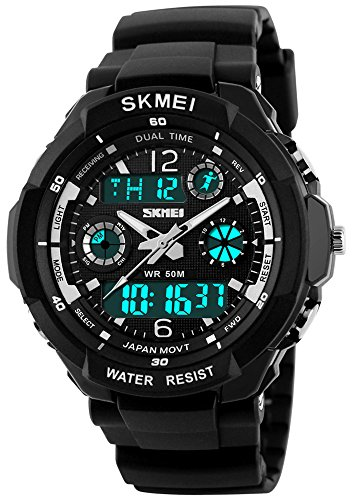 Fanmis Multifunction Backlight Waterproof Stopwatch product image