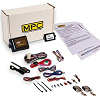 MPC Complete Remote Start Kit with Keyless Entry For 2003-2007 GMC Yukon XL 1500 - w/Bypass - (2) 5 Button 1 Way Remotes