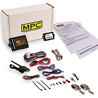 Sale Off MPC Complete Remote Start Kit w/Keyless Entry for 2003-2006 Chevrolet Tahoe - with Bypass - (2) 5 Button 1 Way Remotes