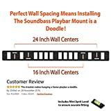 Sonos Playbar Wall Mount Bracket Kit with