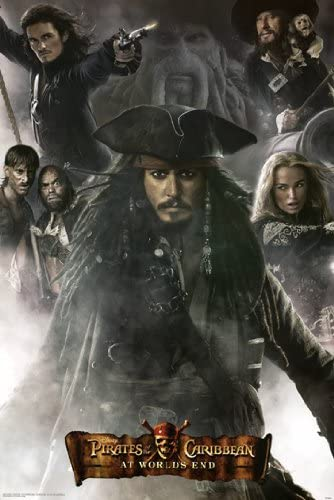 Movie Pirates of the Caribbean At World/'s End Art Print Decor poster 36x24/""