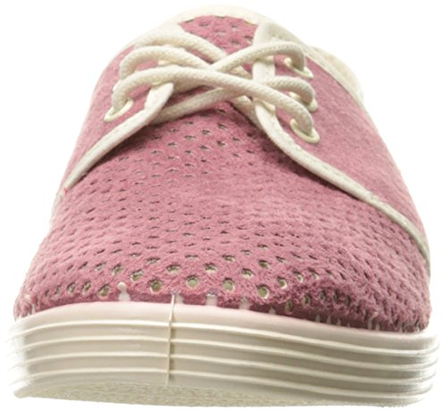 H Door Hudson Womens Maldive Ultrasuede Fashion Sneaker Roze