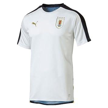 Puma 2018-2019 Uruguay Stadium Jersey (White): Amazon.es: Deportes y aire libre
