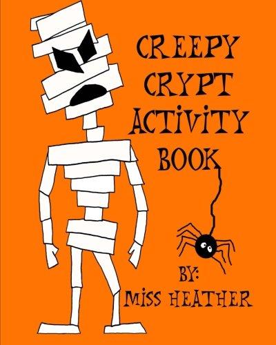 Creepy Crypt Activity Book -