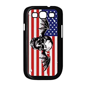Personalized Hardshell Snap-on Back Cover Case for Samsung Galaxy S3 I9300 - A7X Avenged Sevenfold by icecream design