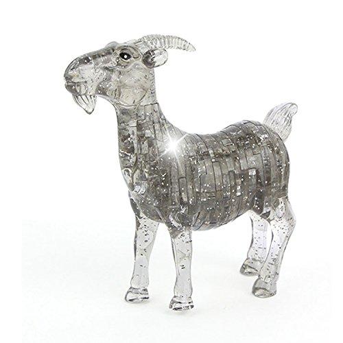 Goat 3D Crystal Puzzle <br>51 Piece Puzzle