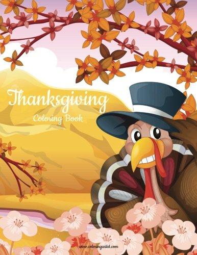 Download Thanksgiving Coloring Book 1 (Volume 1) PDF