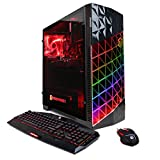 CYBERPOWERPC Gamer Xtreme VR GXi10182OPT Desktop Gaming PC (Intel i7-7700 3.6GHz, NVIDIA GTX 1060 3GB, 8GB DDR4 RAM, 1TB 7200RPM HDD, 16GB Intel Optane Memory, Win 10 Home) Black