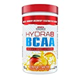 Sparta Nutrition HYDRA8 BCAA: Best Tasting BCAA Powder and Amino Energy Supplement, Intra-Workout/Post-Workout Drink, Increased Muscle Recovery/Endurance, Muscle Builder, Mango Nectar, 30 Servings