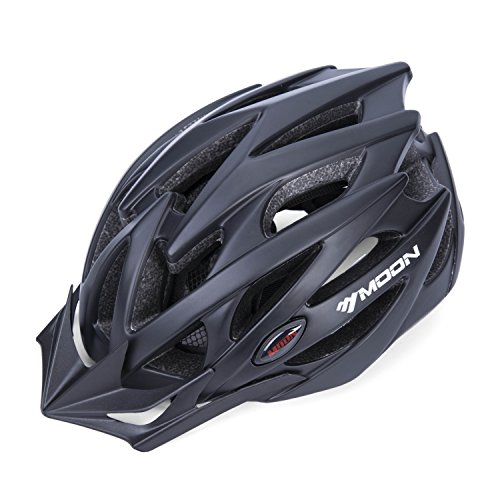 SUNVP Lightweight Sport Bicycle Helmet with Detachable Visor, Padded & Adjustable, Mountain Road Bike Helmet for Adults (Multi Sport Womens Bicycle Helmet)