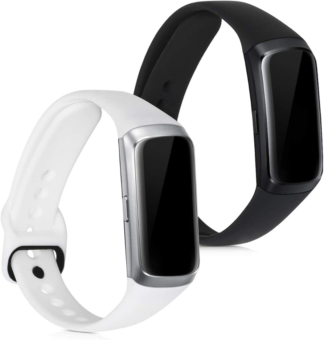 Mallas Para Reloj Samsung Galaxy Fit sm-r370 Negra y blanca