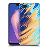 Official Andi Greyscale Two Sides of One Extreme Abstract Marbling Hard Back Case Compatible for Xiaomi Mi 8 Lite/Mi 8X