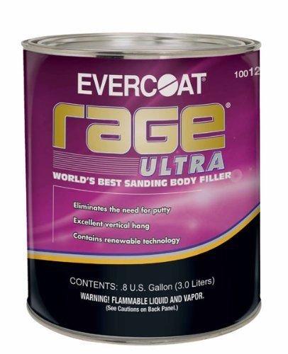 Evercoat 125 Rage Ultra Body Filler - 0.8 Gallon Body Filler Gallon