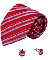 YAB2A12 Various Of Colors Stripes Giftts Idea for Mens Silk Ties 2PT By Y&G