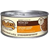 NUTRO Minced Adult Wet Cat Food, Chicken, 3 oz. (Pack of 24)