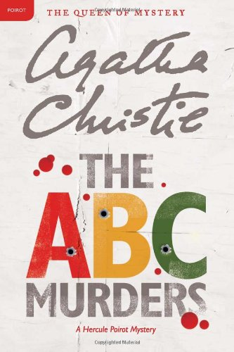 Book cover for The A. B. C. Murders