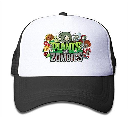 Kid's Adjustable Plants Vs Zombie Hip Hop Caps One (Zombie Girl Clothes)