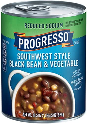 Soup: Progresso Reduced Sodium