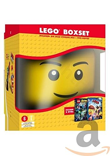 Lego movie/Lego Batman the movie (head) by
